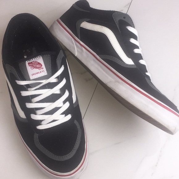4d301a6121 Vans Geoff Rowley 66 99 black skate shoe. M 5b562a3ee944ba1056ca5c7a. Other  Shoes ...
